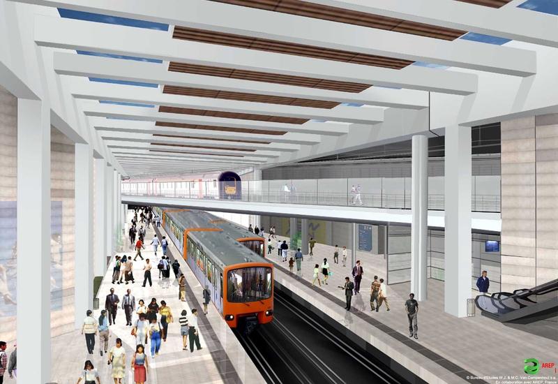 Project metrostation, Europese wijk (Schuman)
