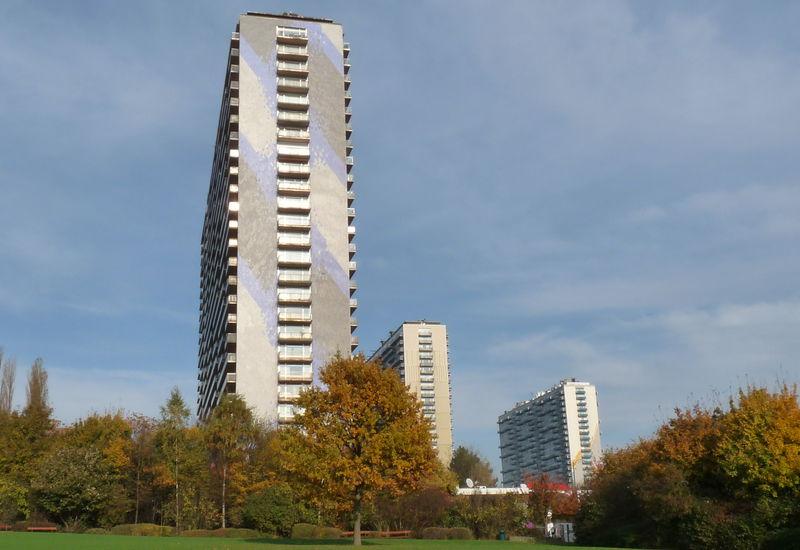 Grand immeuble, Boulevard Louis Mettewie (Molenbeek-Saint-Jean)