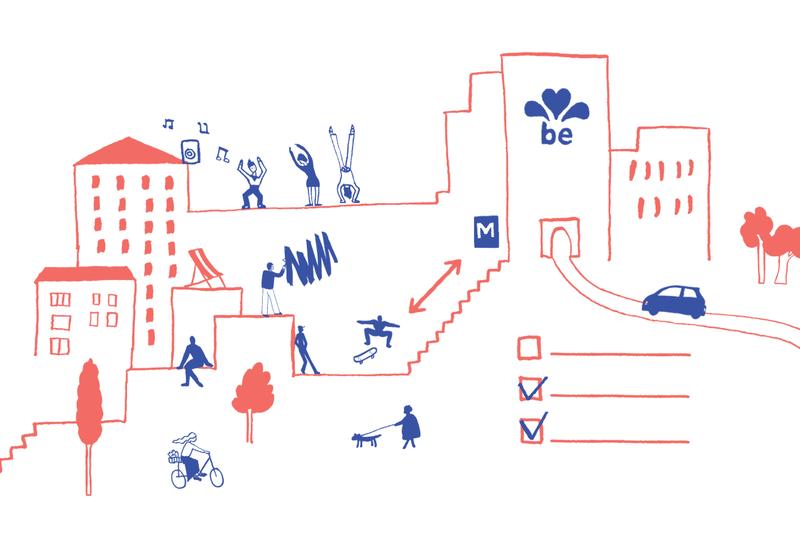 Guide des espaces publics bruxellois